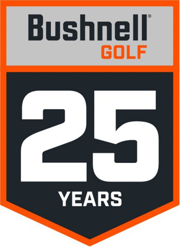 bushnell golf 25years